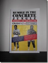 DSCF1552 thumb Rumble In The Concrete Jungle Crushpad VS. City Winery